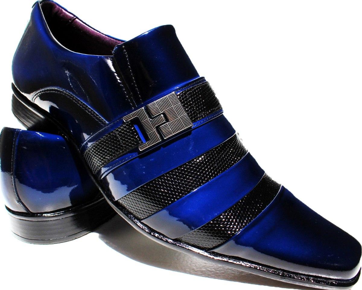 26b12fad23 sapato social envernizado preto masculino exclusividade dhl. Carregando  zoom.