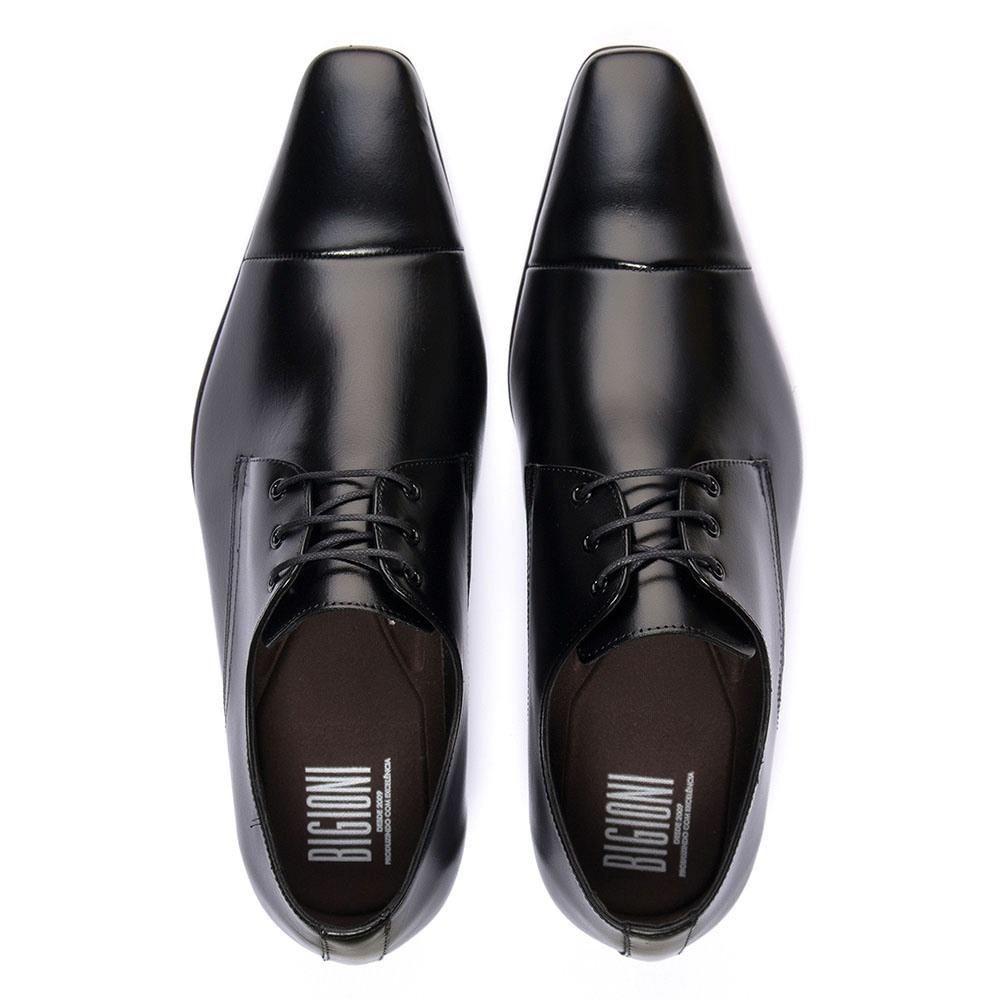 86a5d6e185 sapato social estilo italiano bico fino 100% couro legítimo. Carregando  zoom.