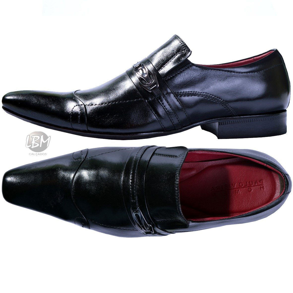 4849ad507e sapato social estilo italiano masculino bico fino clássico  . Carregando  zoom.