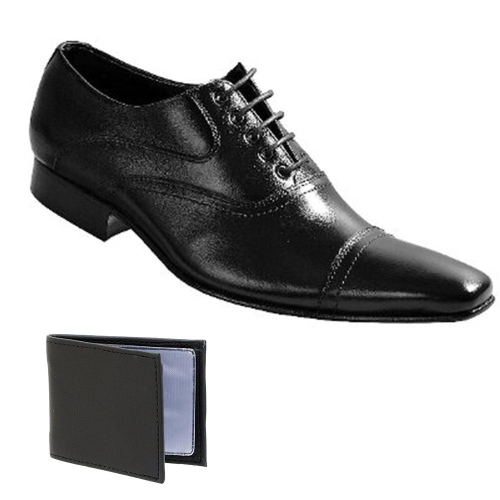 e3c9ff0177 sapato social estilo italiano paulo vieira em couro + brinde. Carregando  zoom.