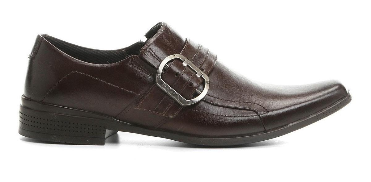 6fbf4ef39 sapato social ferracini frankfurt couro masculino marrom. Carregando zoom.