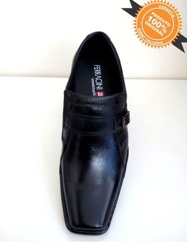 sapato social ferracini | winner dry preto 42161327a | couro