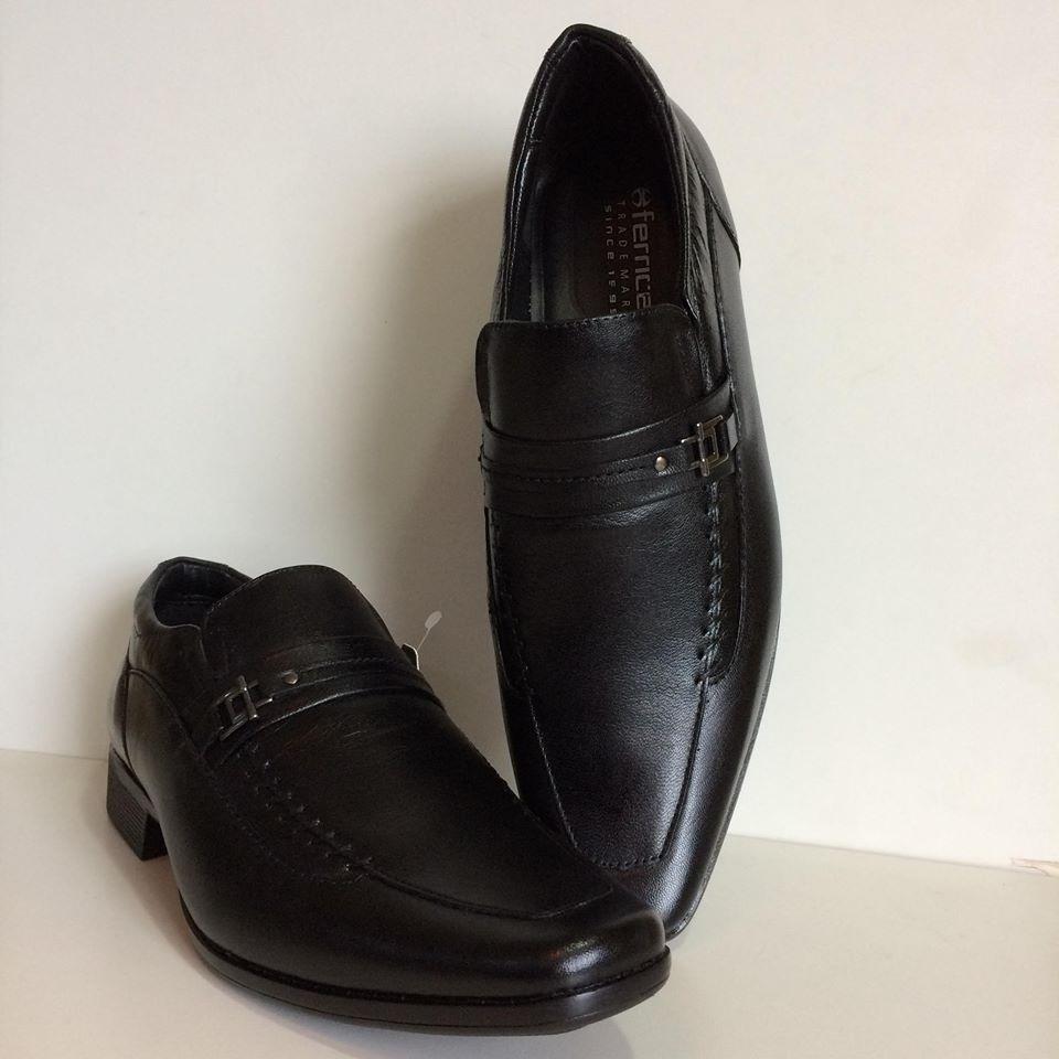 5bf2406435 Sapato Social Ferricelli Masculino Em Couro - Ge47450-pa00 - R$ 195 ...