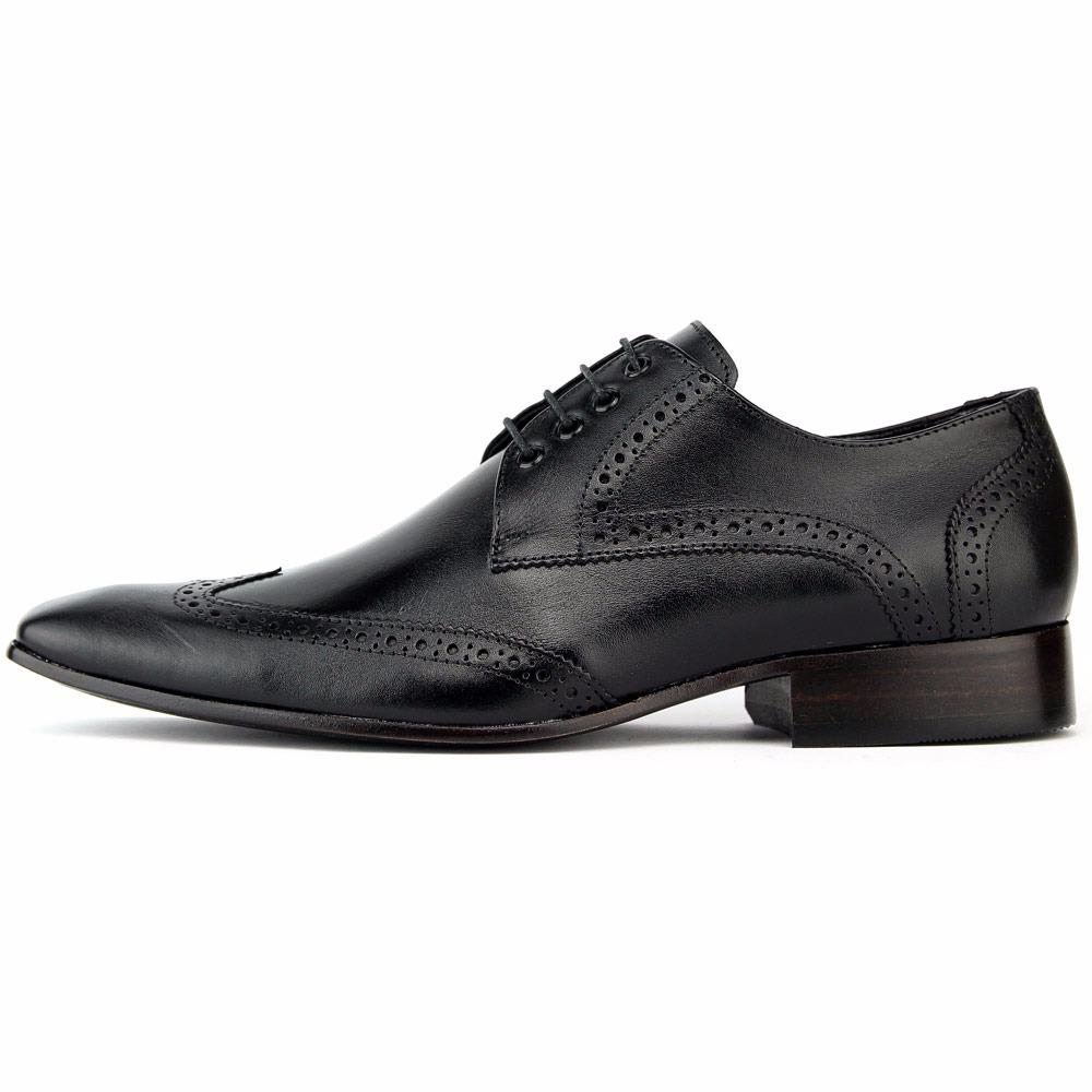 80fa9087c1 sapato social full brogue oxford couro legítimo masculino. Carregando zoom.