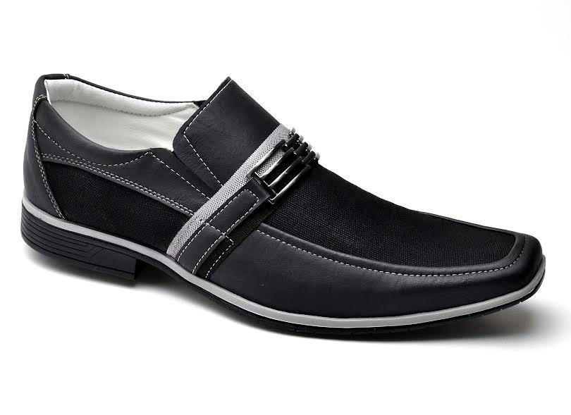 ef0de42791 sapato social hematita masculino promoção preto novo habito. Carregando  zoom.