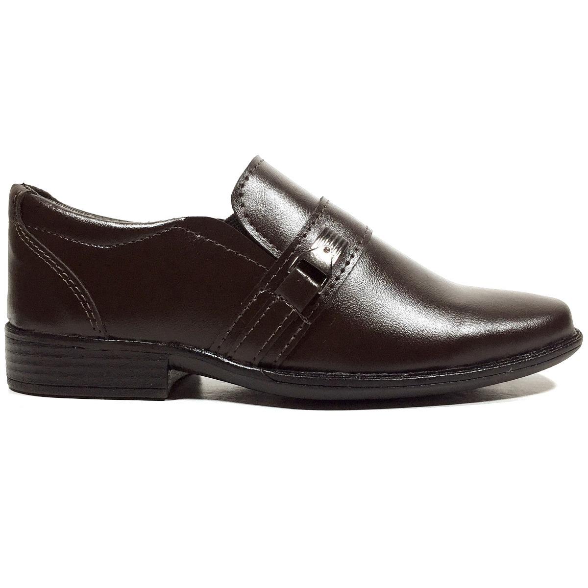 671f96252 sapato social infantil masculino marrom café. Carregando zoom.
