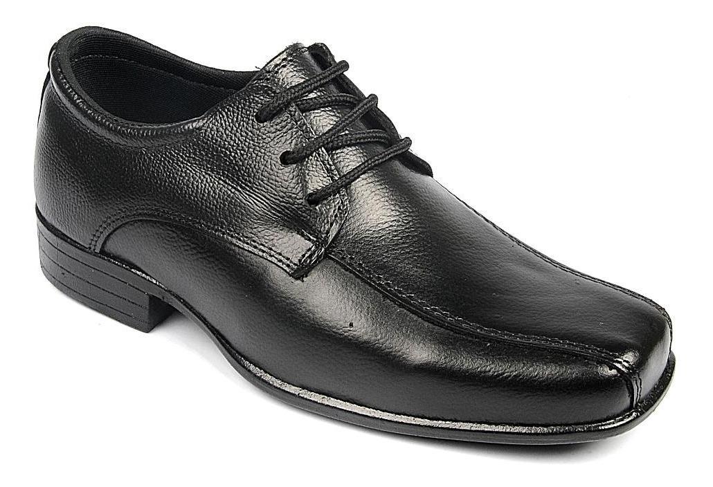 e77f76df4 sapato social infantil meninos couro cadarço garra 300 preto. Carregando  zoom.