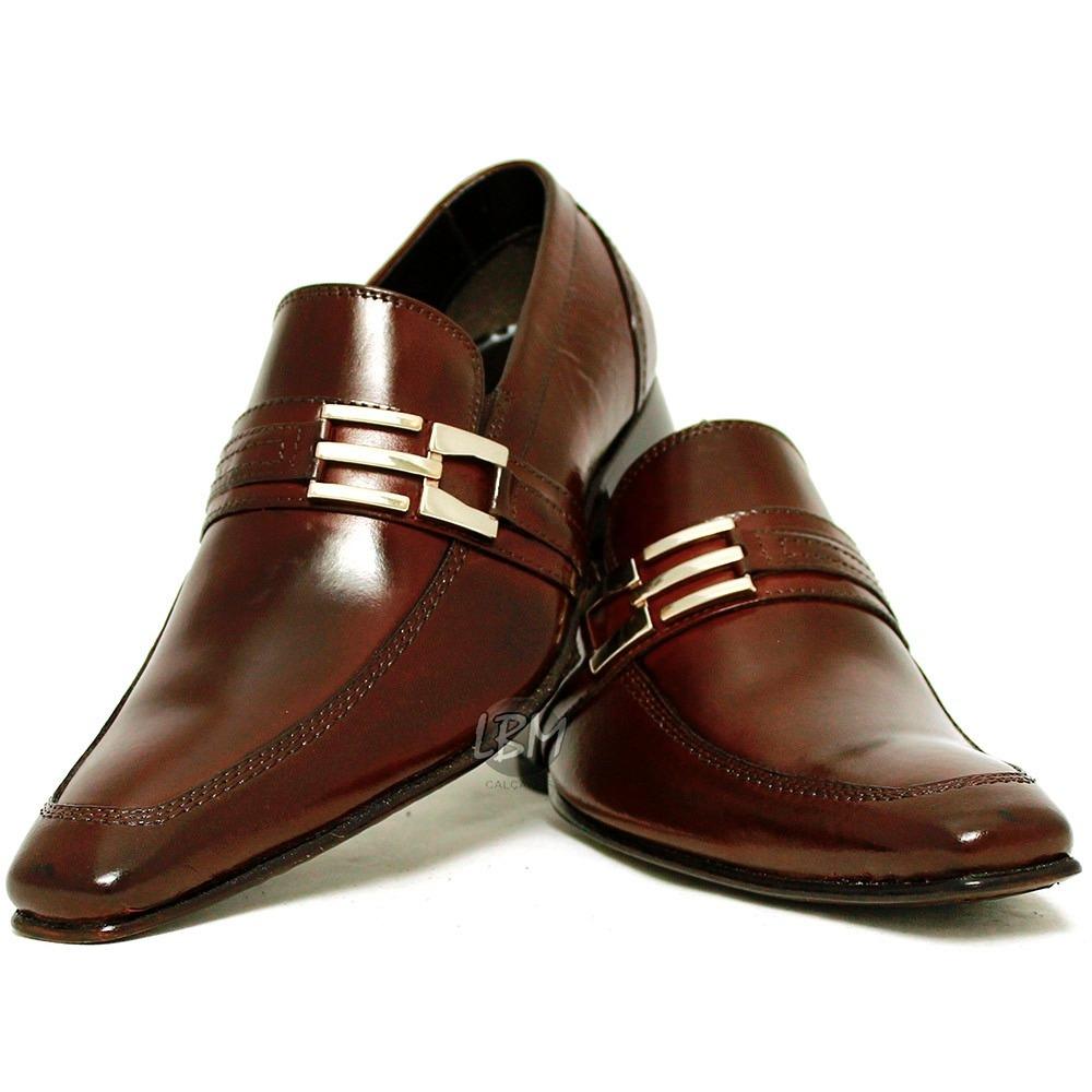 74e9787bb7 sapato social italiano em couro legítimo direto da fábrica. Carregando zoom.