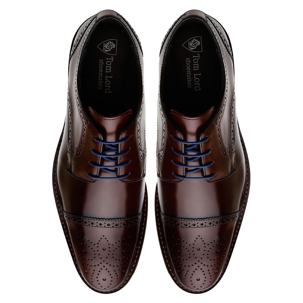 3aa9feddc2 sapato social macio acabamento fino derby james masculino. Carregando zoom.