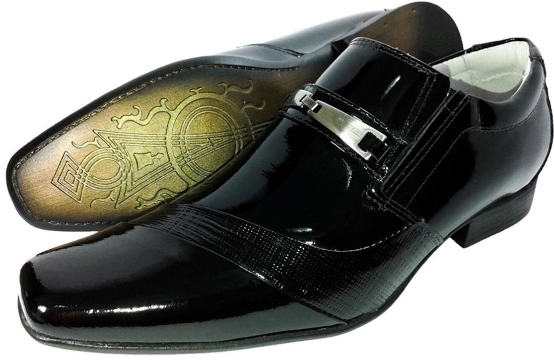 2741abd886 sapato social masc couro verniz luxo sofisticação franca sp. Carregando zoom .