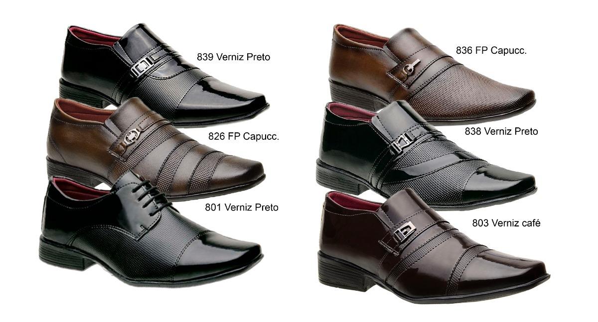 2dec99c4f sapato social masculino 4 pares para escolher premiun. Carregando zoom.