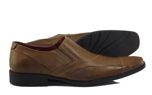 49bbb3e002 Sapato Social Masculino 89000 Caramelo - R  109