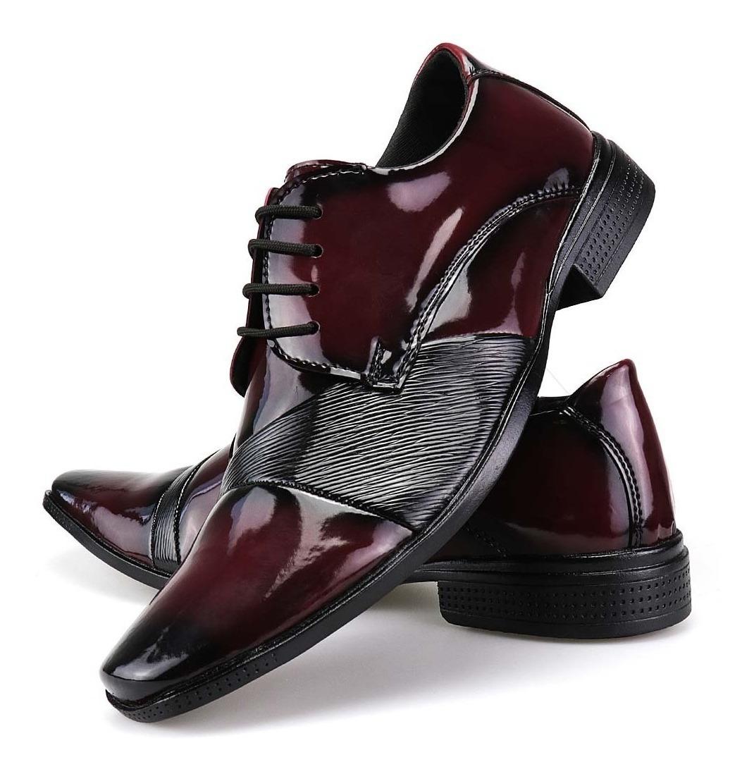 9c2139f77b sapato social masculino alto brilho franca dhl calçados. Carregando zoom.