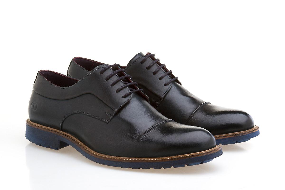 5239ea2f93 sapato social masculino amarrar bico redondo sola tred preto. Carregando  zoom.