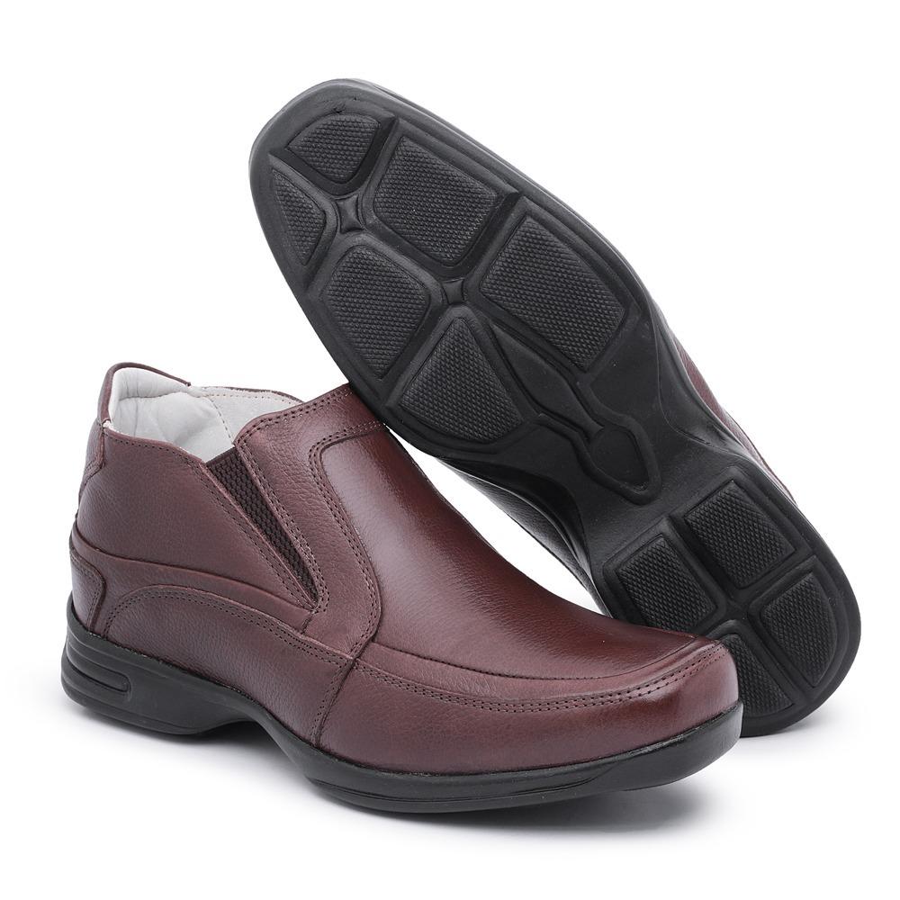 9a35d1362b sapato social masculino anatômico linha confort em couro. Carregando zoom.