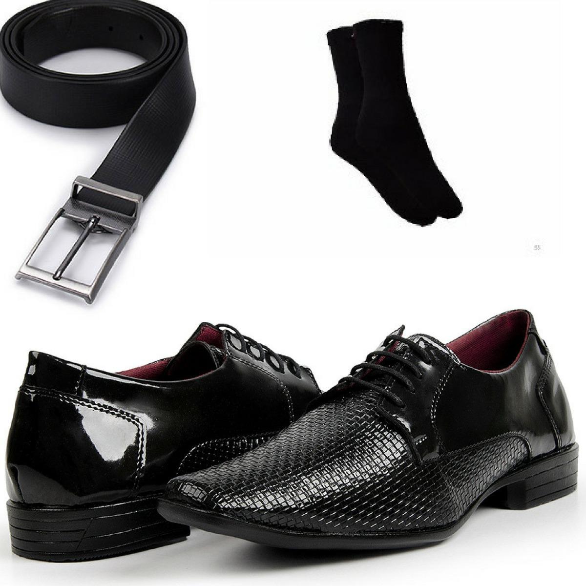 ef752e18b sapato social masculino barato promoção aproveite brindes. Carregando zoom.