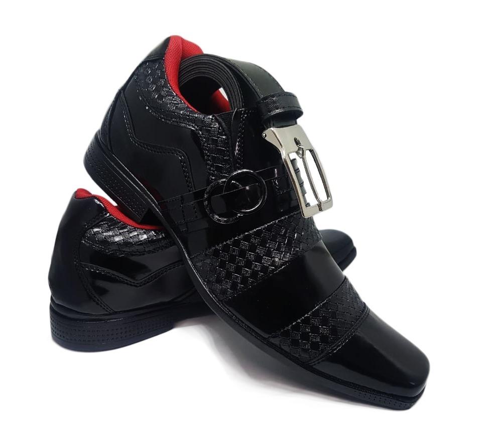 1692536b2 sapato social masculino barato tipo italiano franca + brinde. Carregando  zoom.