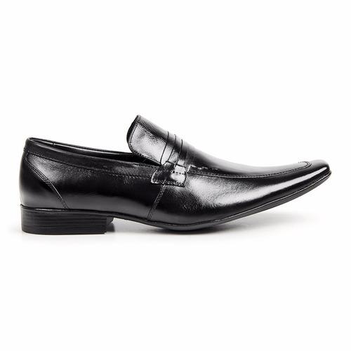 2bb5646da2 sapato social masculino bico fino clássico preto 359. Carregando zoom.