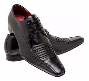 5ad153aab Sapato Social Marrom Masculino Bico Fino Italiano - Sapatos com o Melhores  Preços no Mercado Livre Brasil