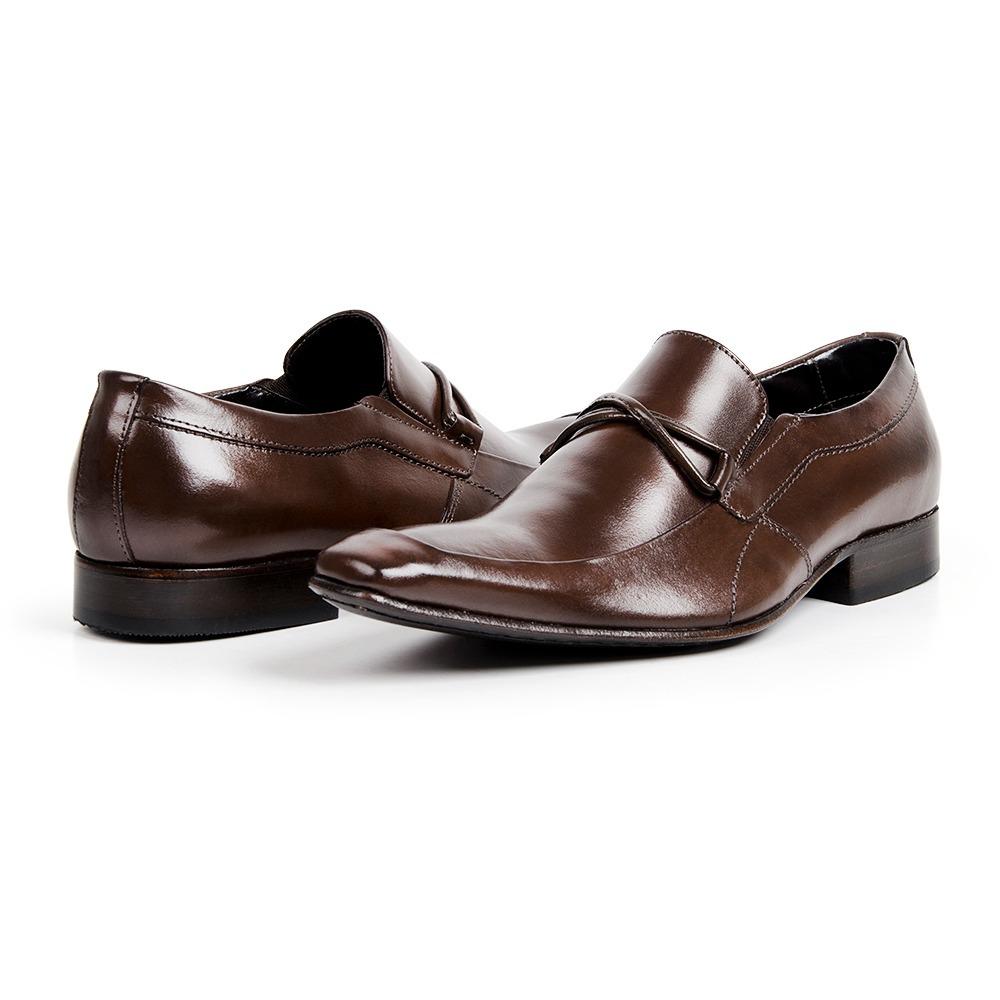 432b961500385 sapato social masculino bico fino italiano luxo solado couro. Carregando  zoom.