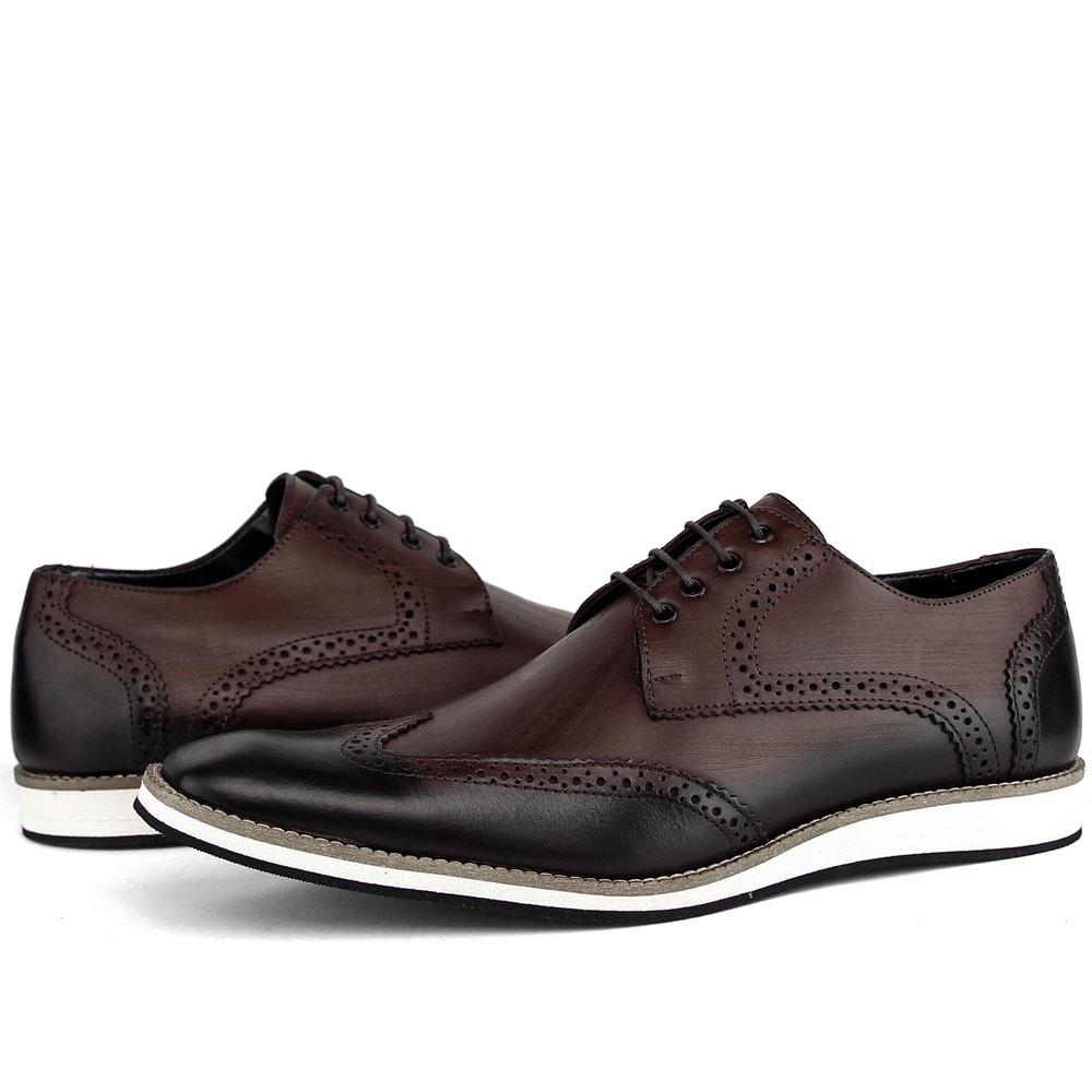 8c8bffe0d sapato social masculino bico fino luxo couro sapatofran!! Carregando zoom.