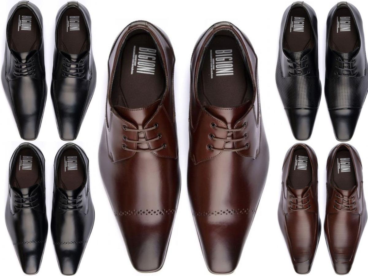 b4b8bcb67 sapato social masculino bigioni italiano bico fino f+gratis. Carregando  zoom.