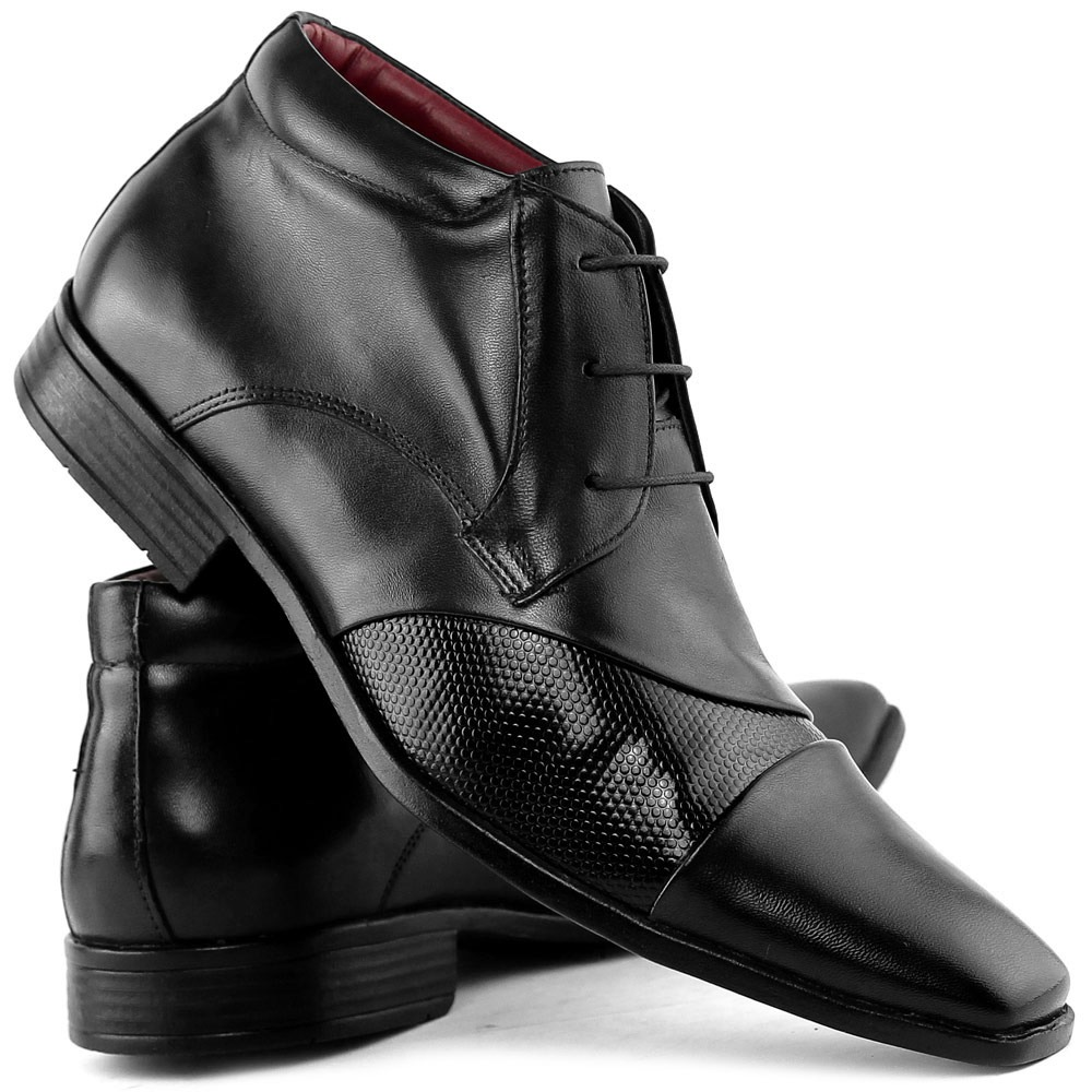 ce18906d6 sapato social masculino botinha estilo italiano dhl calçados. Carregando  zoom.