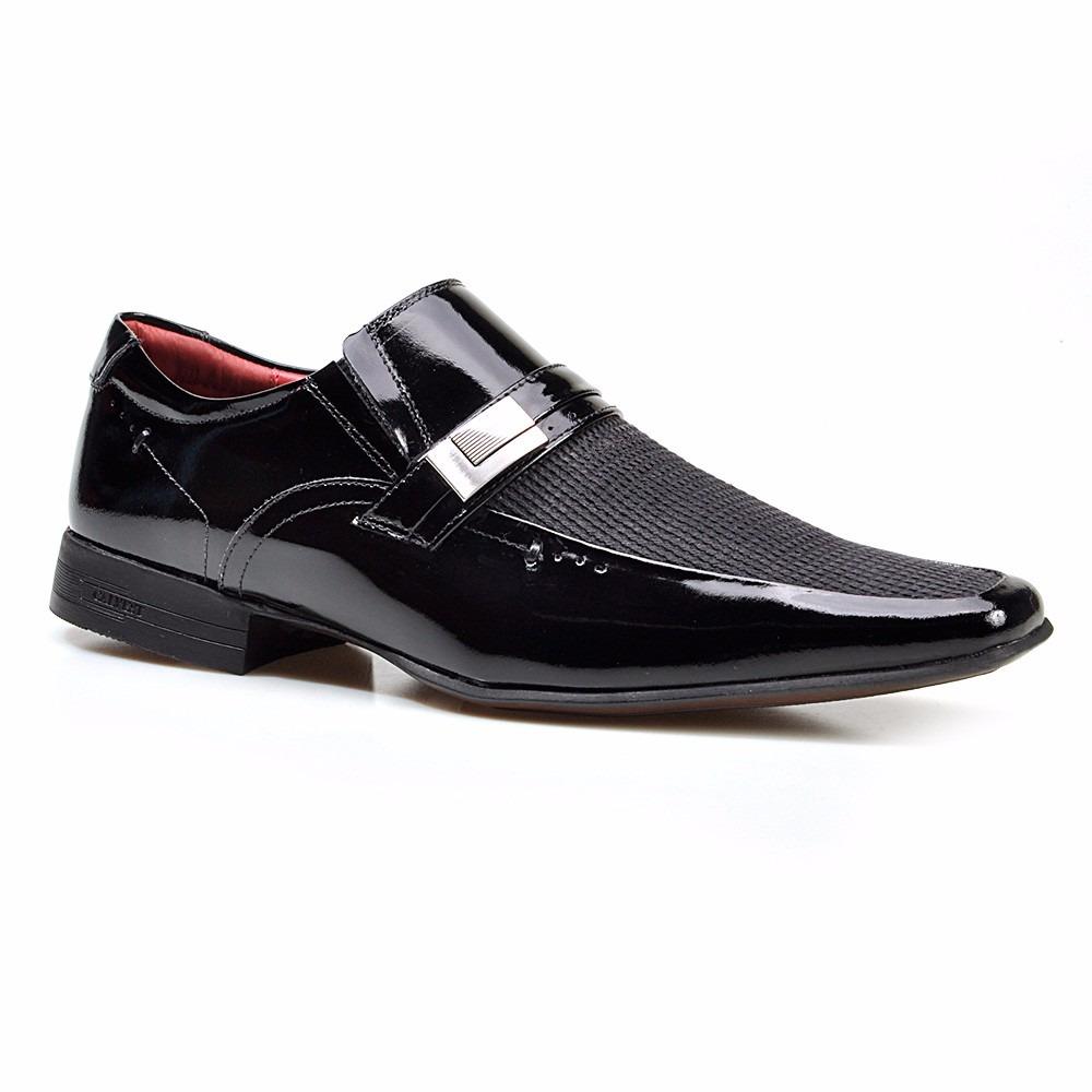 8545d66ed6 sapato social masculino calvest fasano em couro verniz. Carregando zoom.