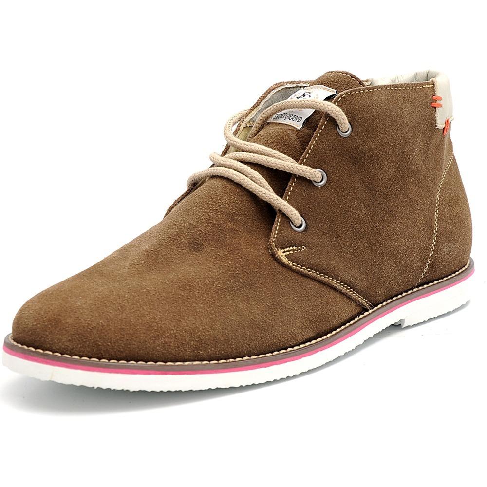 30b3799589 sapato social masculino casual couro camurça cano curto. Carregando zoom.