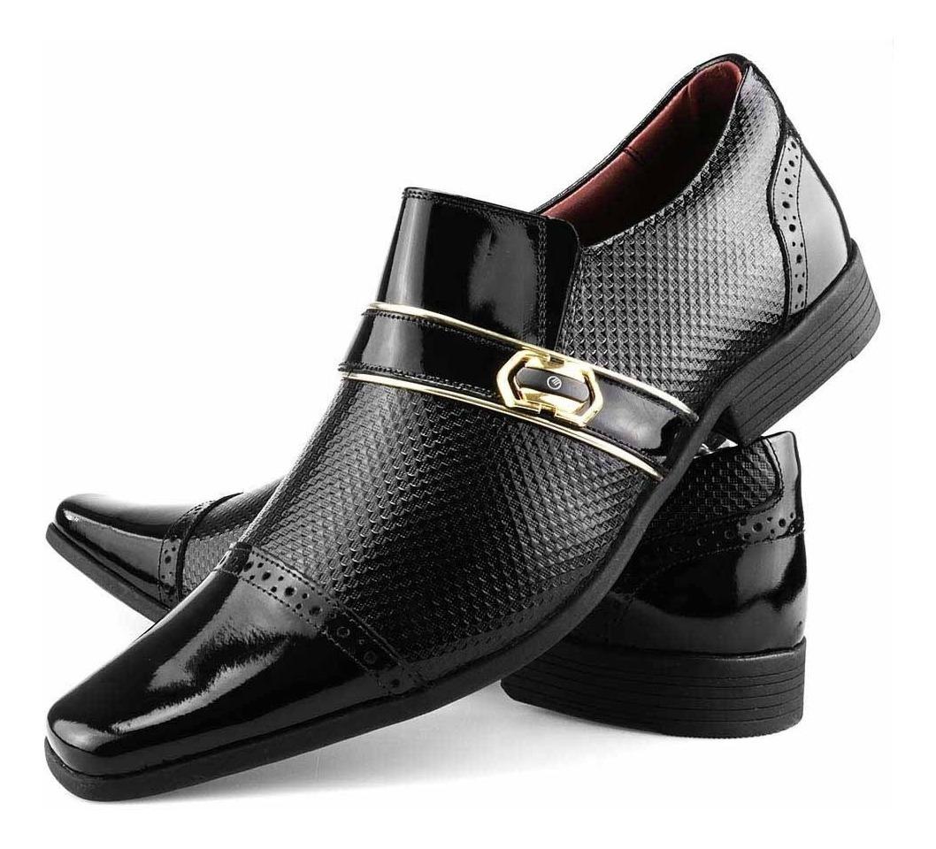 bdedccf73d sapato social masculino casual couro legitimo dhl calçados. Carregando zoom.