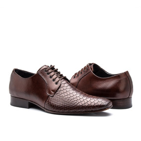 4ee5285352 Sapato Social Masculino Couro Legítimo Cor Mouro Exportação ...