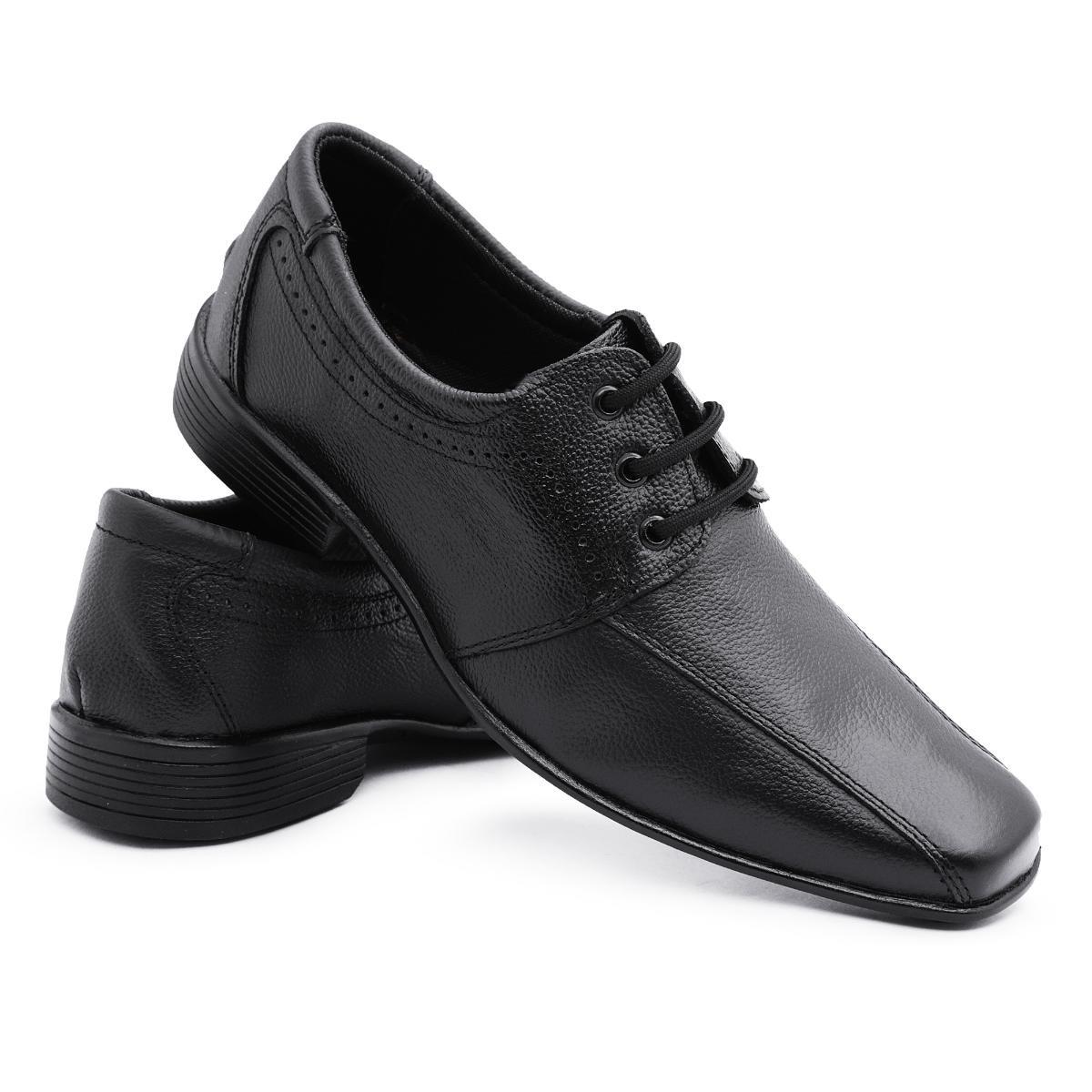bb3fd23458 sapato social masculino clássico em couro vr. Carregando zoom.