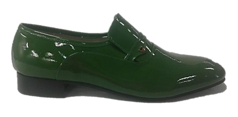 e6456c34cf sapato social masculino claudiu´s ref. 202 couro coloridos. Carregando zoom.
