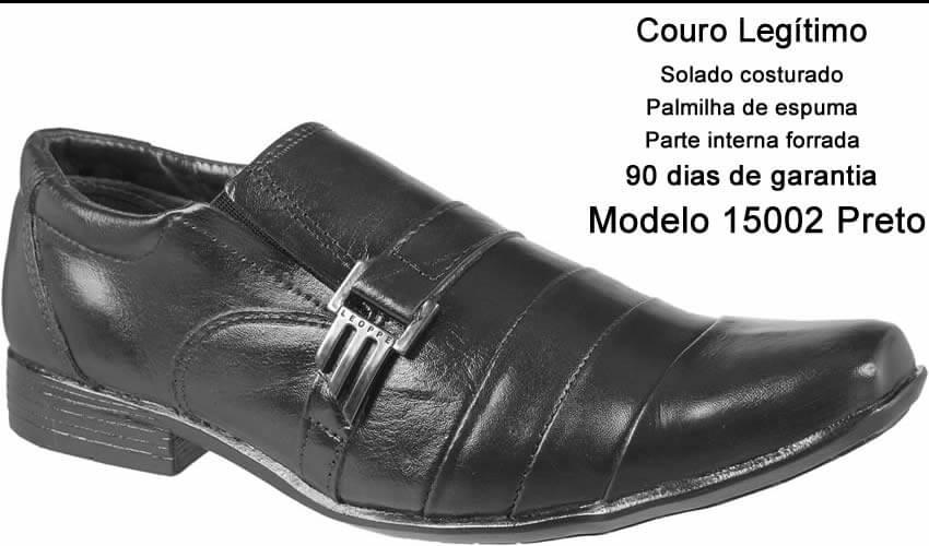 6396b077ac sapato social masculino couro bico fino direto da fábrica. 6 Fotos