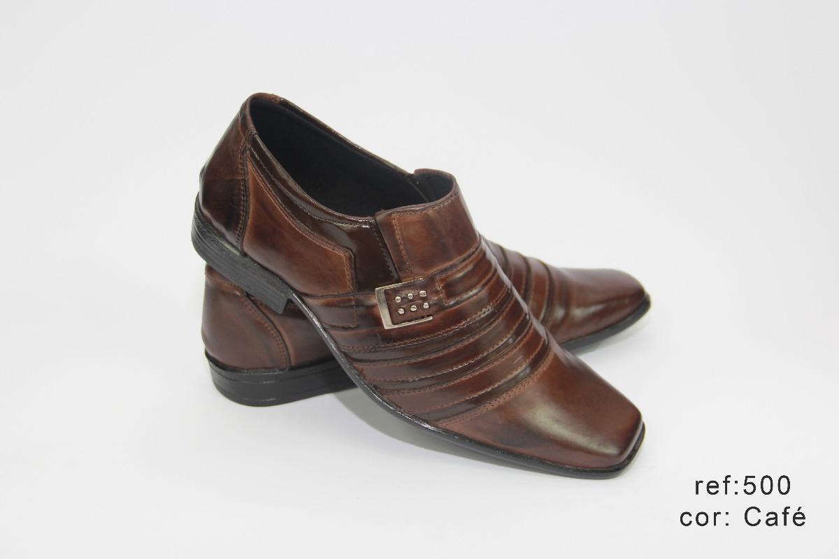 3f489cbed sapato social masculino couro detalhe verniz promoção barato. Carregando  zoom.
