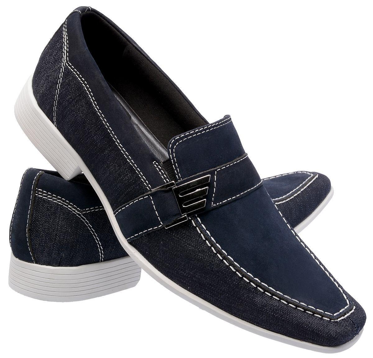 8c8c580b1 sapato social masculino couro e jeans esporte fino promoção. Carregando  zoom.