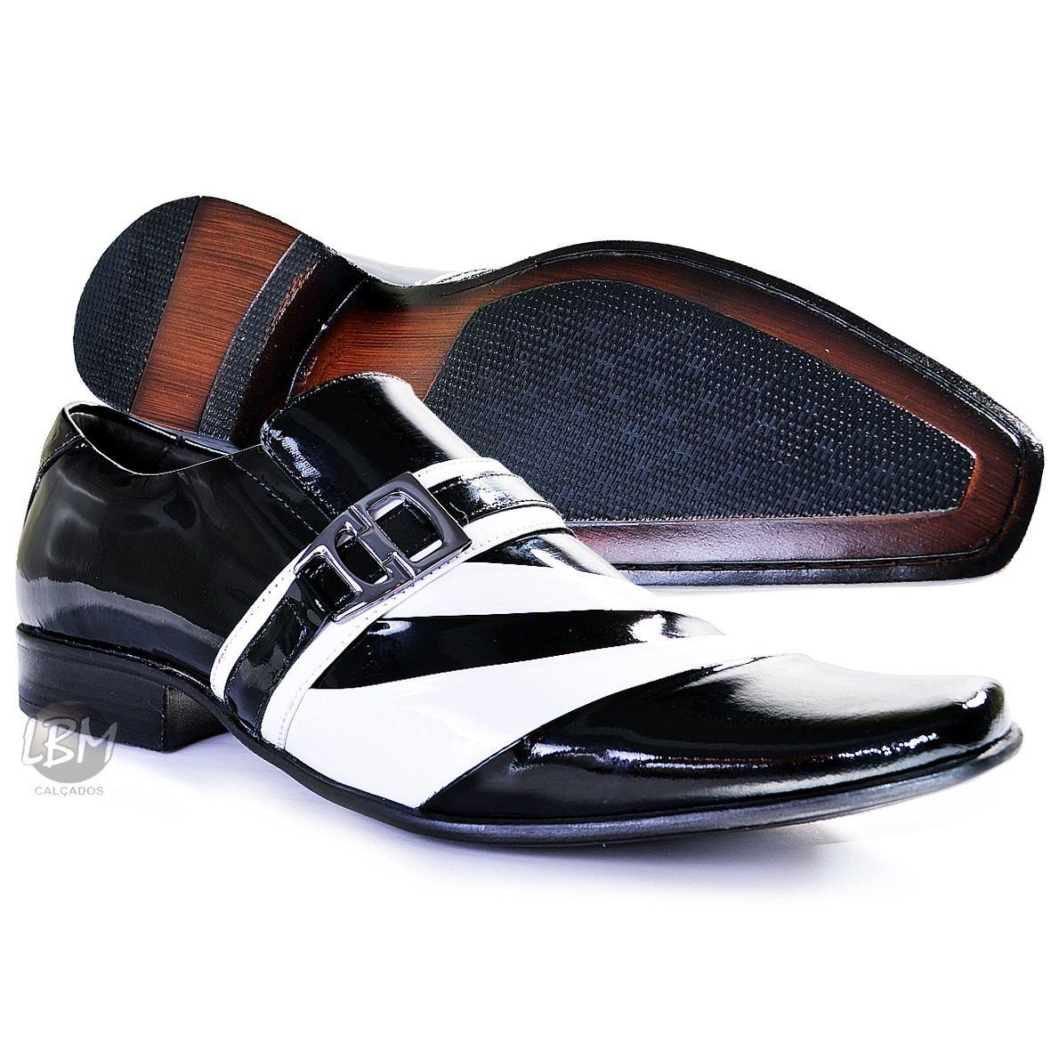 c7138e579e sapato social masculino couro envernizado. Carregando zoom.