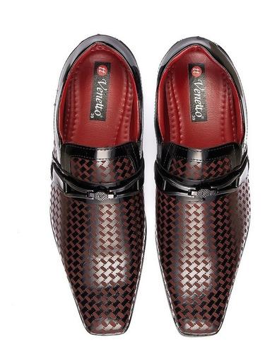 16cc30d2f Sapato Social Masculino Couro Envernizado Kit Cinto+carteira - R$ 99 ...