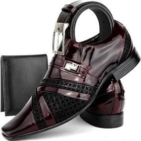 23324fce7e Sapato Social Italiano - Sapatos Sociais e Mocassins para Masculino Sociais  Bordô com o Melhores Preços no Mercado Livre Brasil
