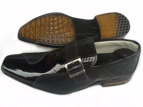 285013cb5 Sapato Social Masculino Couro Legítimo · R$ 119 50