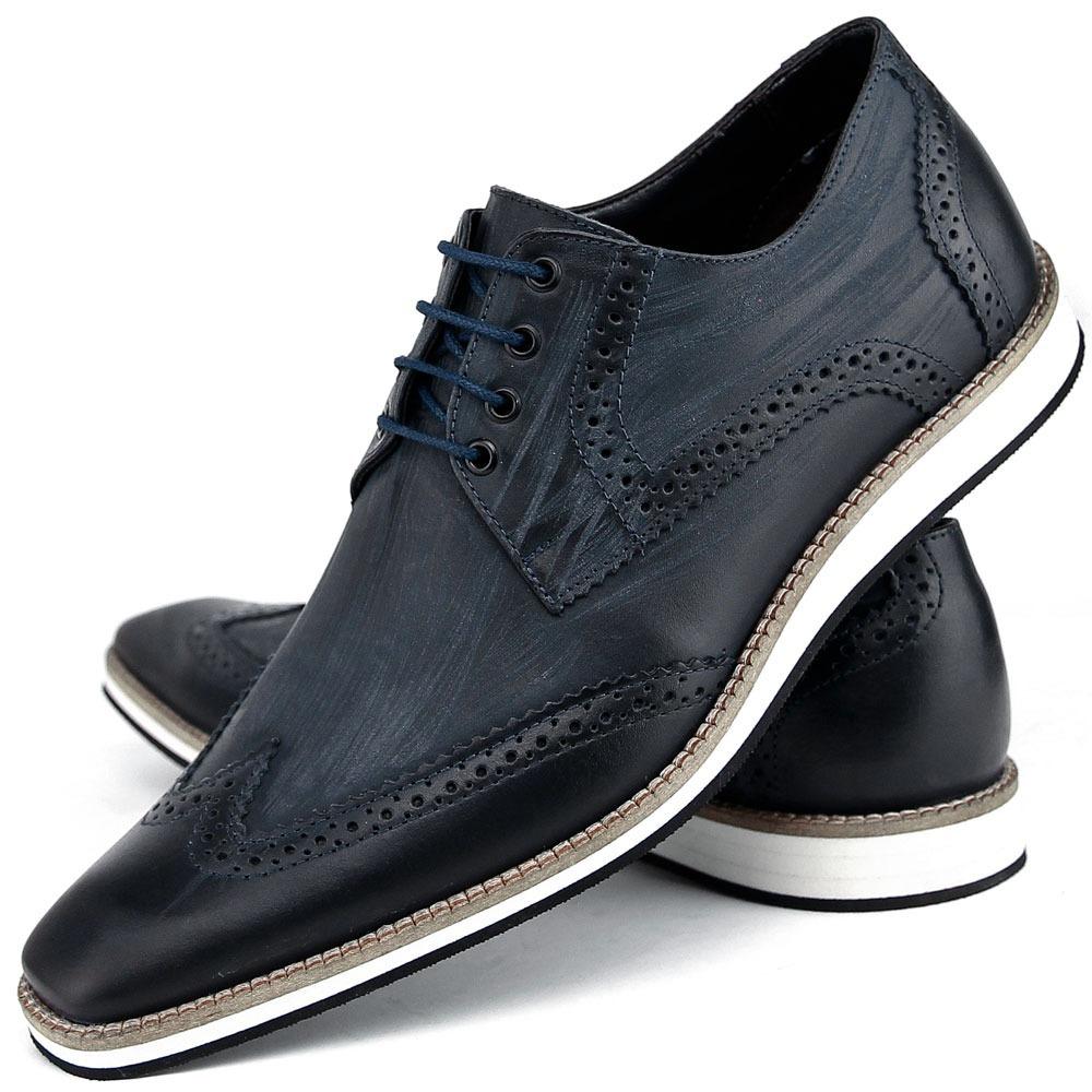 04577eb673 sapato social masculino couro legitimo bigioni oxford luxo. Carregando zoom.