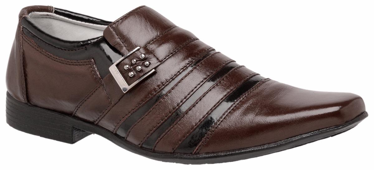 23e7bfc7dc sapato social masculino couro legítimo estilo italiano. Carregando zoom.