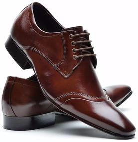925d11db2 Sapato Social Masculino Couro Legitimo Solado Em Couro Dhl