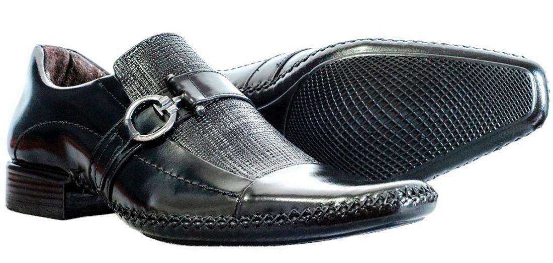 19c6bb45b sapato social masculino couro legitimo verniz brilhoso dhl. Carregando zoom.