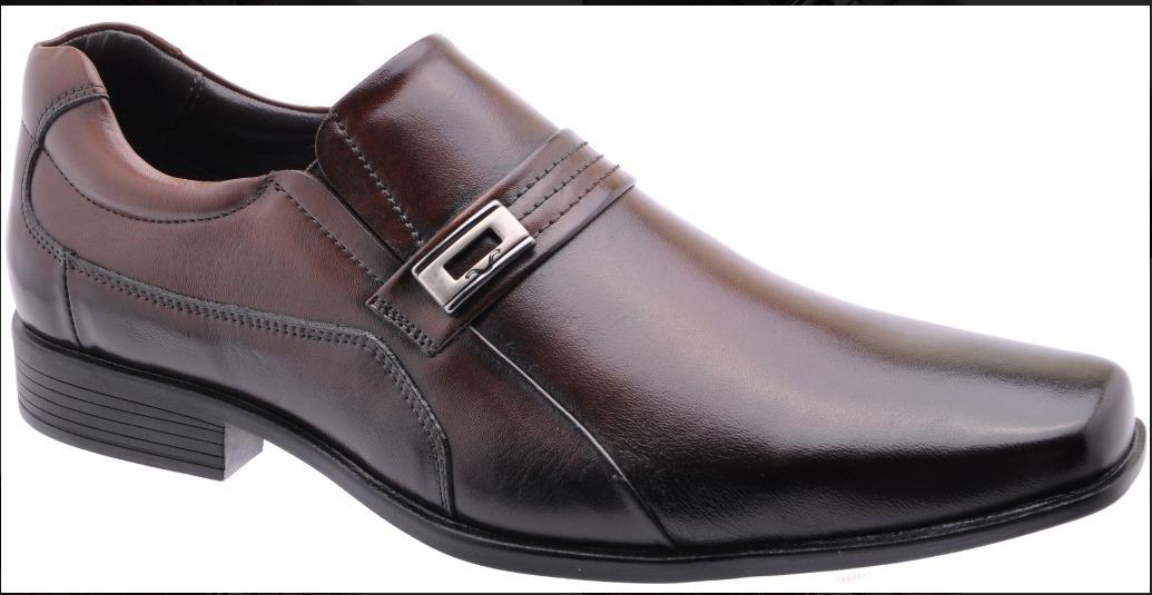 aae2b74c2 Sapato Social Masculino Couro Mariner - Marrom - R$ 159,90 em ...
