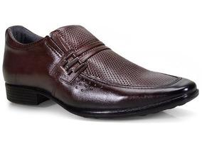 4ada95d6d3 Sapato Social Couro Pegada Basico Marrom - Sapatos com o Melhores Preços no  Mercado Livre Brasil