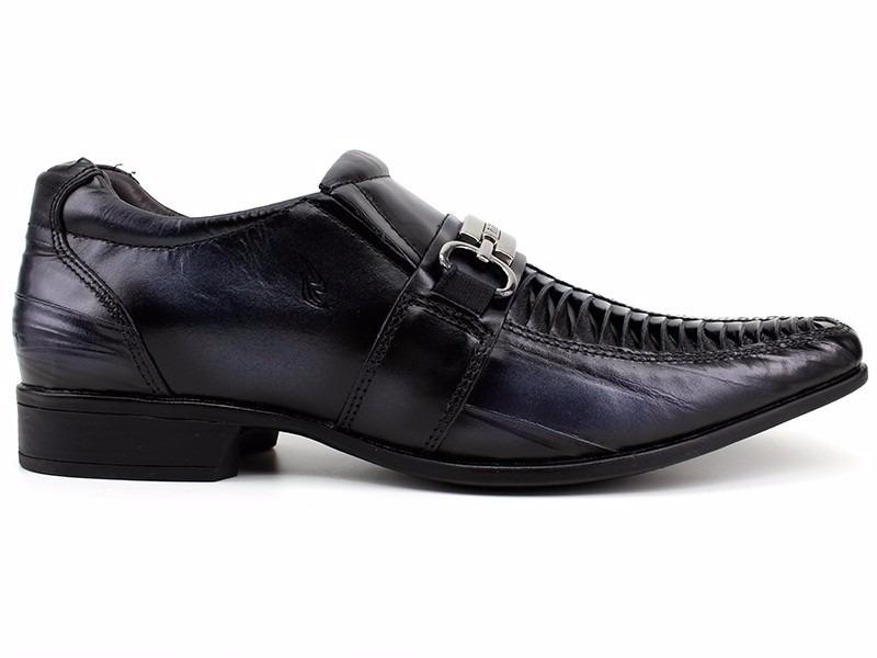 f69f5d234 sapato social masculino couro preto rafarillo 100% original. Carregando zoom .