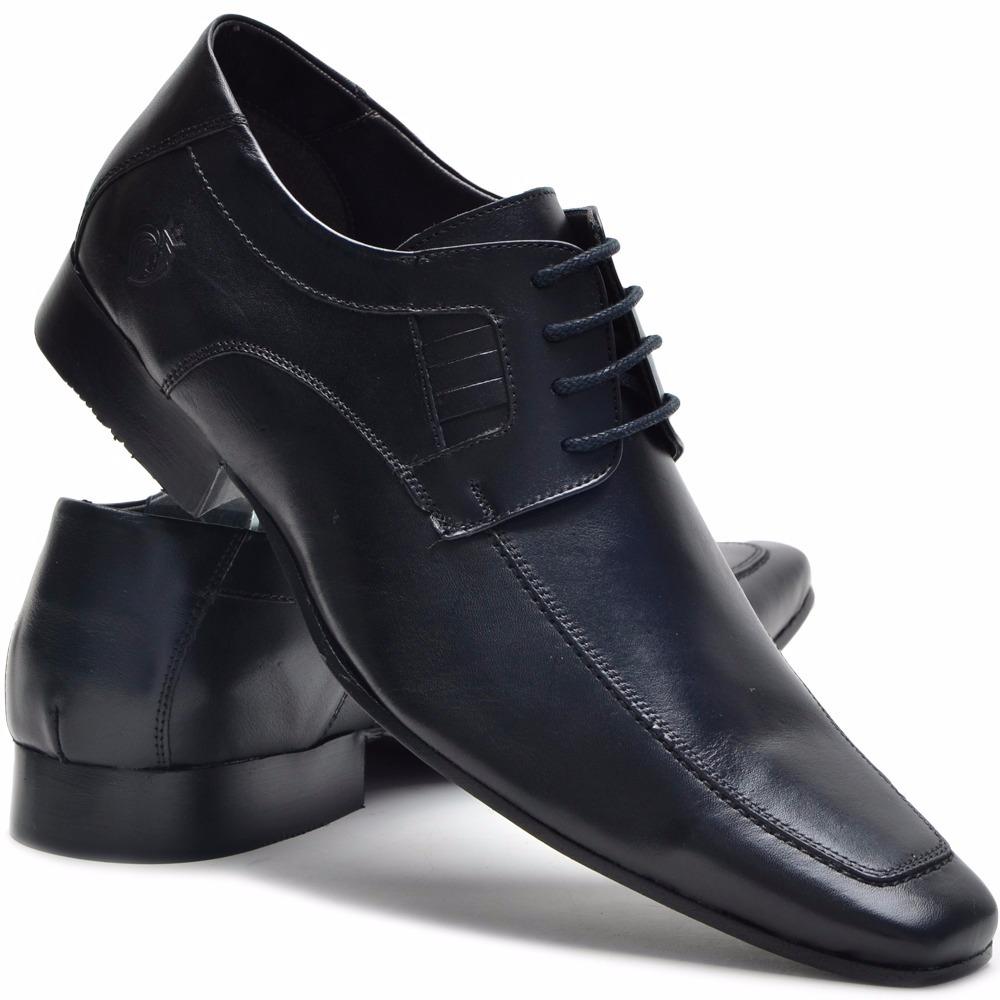 a088e7c53 sapato social masculino couro stilo italiano forms d amarrar. Carregando  zoom.
