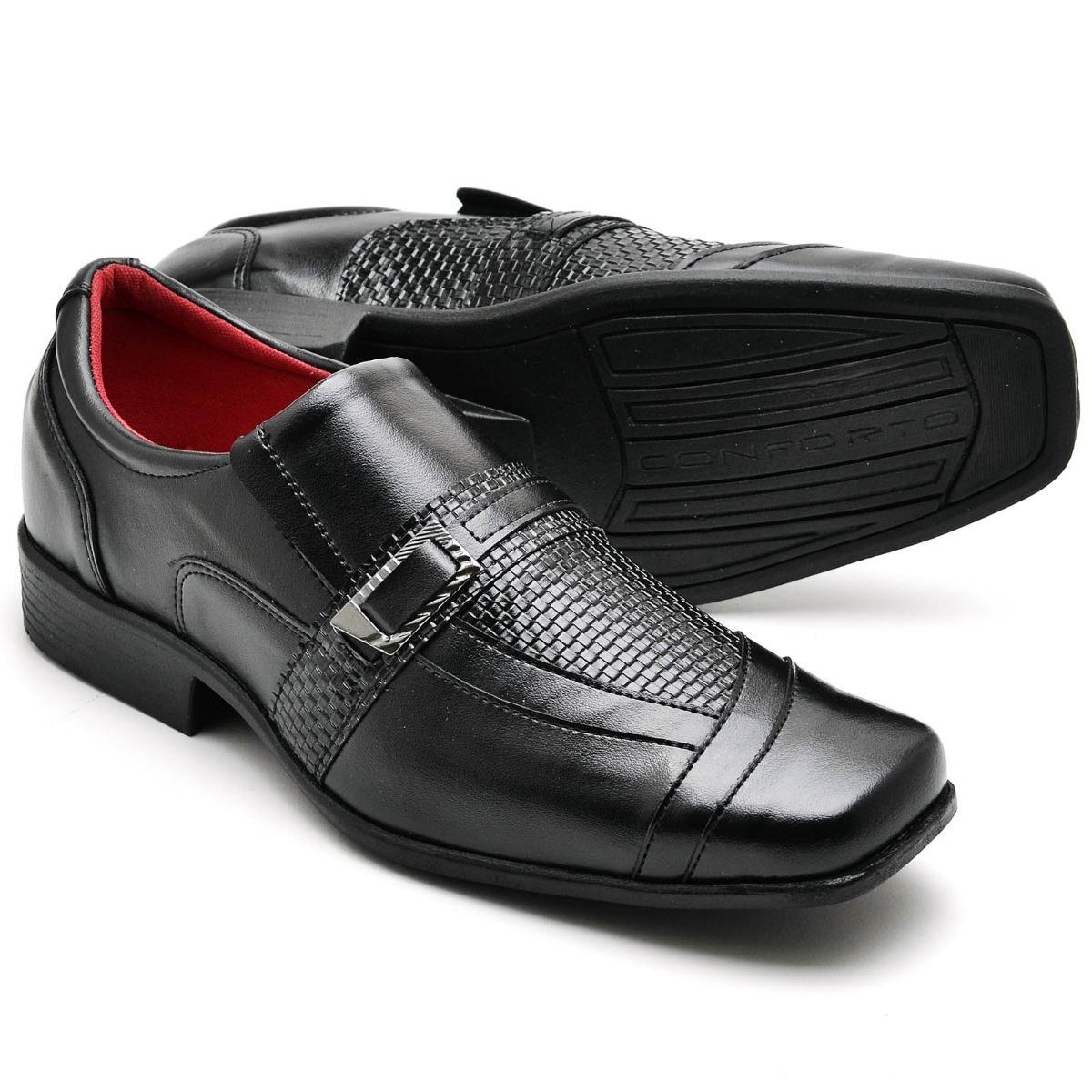 c09d5ba7f3 sapato social masculino couro super macio eco oferta barato. Carregando zoom .