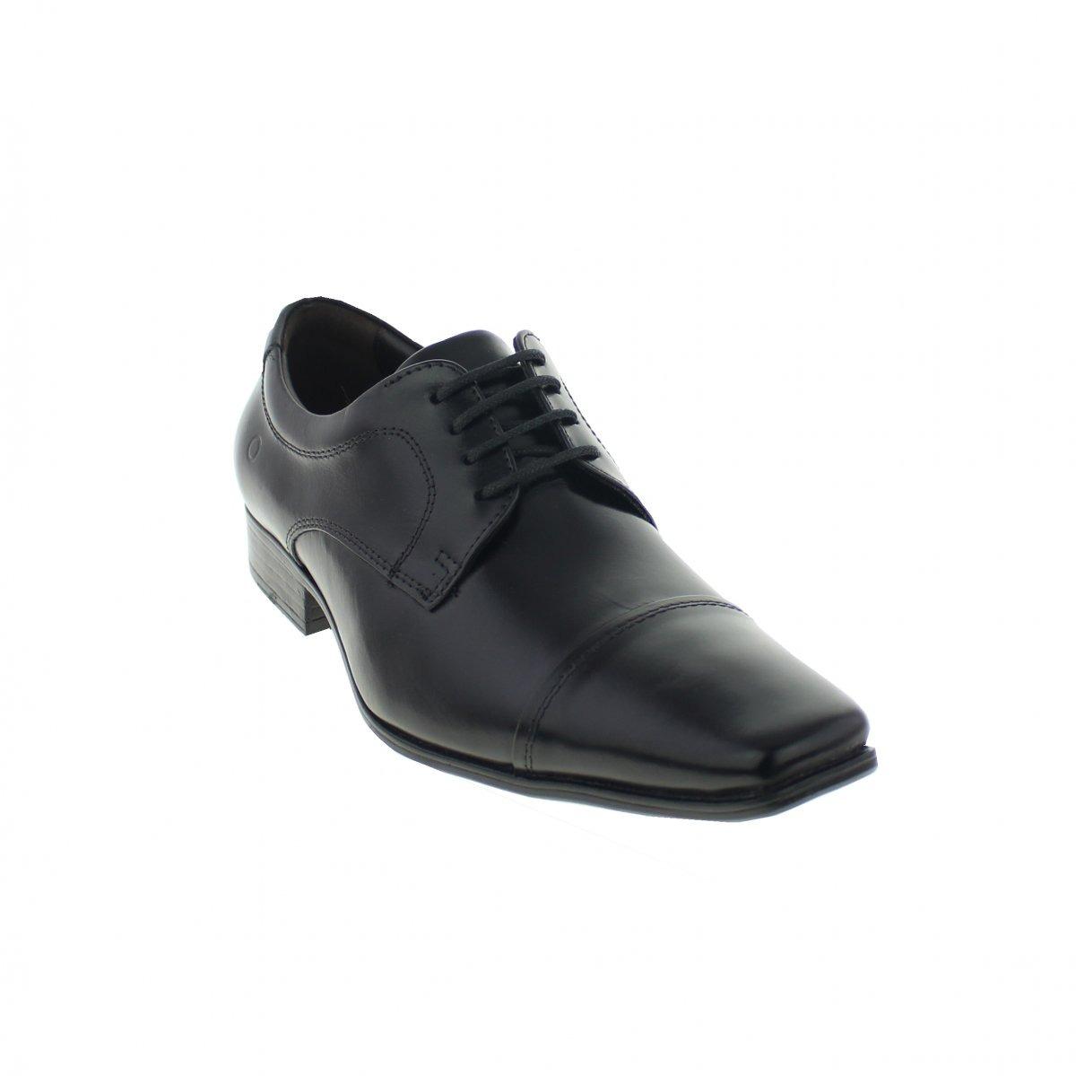 c193e42e17 sapato social masculino democrata 450052-001 em couro preto. Carregando  zoom.